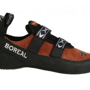 Boreal Joker Velcro Climbing Shoes - Red