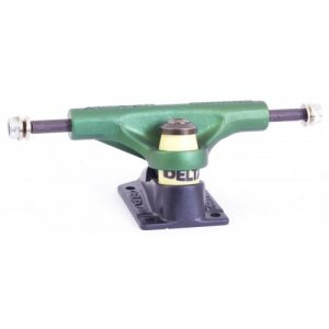"Detroit Delta II 5"" Skateboard Trucks - Green"