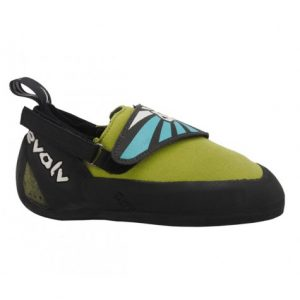 Evolv Venga Kids Climbing Shoes -Lime Green