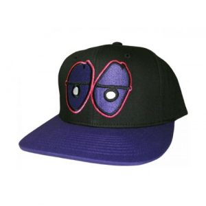Krooked Kap - Black/Purple