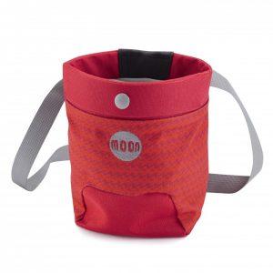 Moon Trad Chalk Bag – Red/Orange