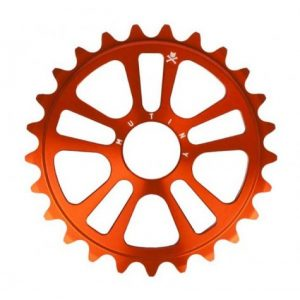 Mutiny Ethereal 25t BMX Sprocket - Orange