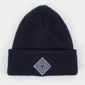 The National Skateboard Co Post Details X beanie - Black