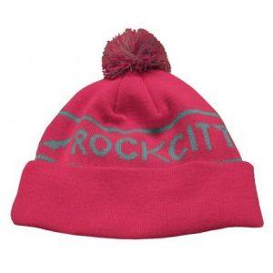 Rockcity Pom Pom Beanie - Pink