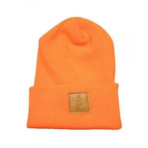Story Fold Beanie - Orange