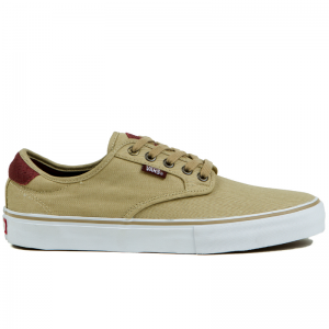 Vans Chima Ferguson Pro Skate Shoes - Tooled Leather - Side View