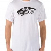 Vans Off The Wall Tee, White/Black-0