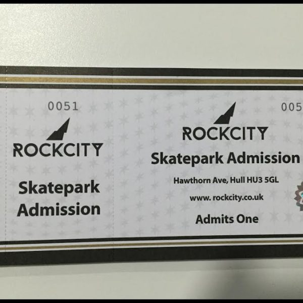 Buy your Skatepark Day Session from the Rockcity Shop