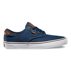 Vans Chima Ferguson Pro Skate Shoes - Oxford Blue