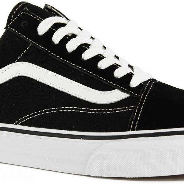 Furgonetas Zapatos Viejos Skool - Negro / Blanco CEA2xUSo