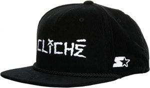 Cliche Corduroy Starter Cap - Black