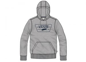Vans Full Chain Pullover Hoodie - Concrete Heather