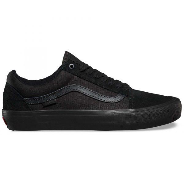 Vans Old Skool Pro Skate Shoes - Blackout