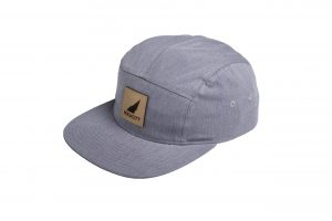 Rockcity Full Patch Five Panel - Grey