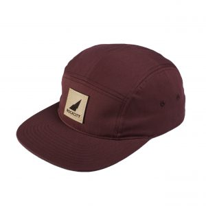 Rockcity Full Patch Five Panel - Maroon