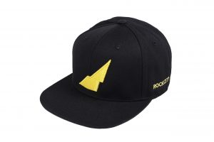 Rockcity Snapback - Black/Yellow