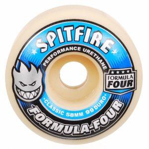 Spitfire Formula Four Classic 99 Duro Skateboard Wheels