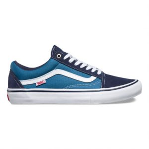 Vans Old Skool Pro Skate Shoes - Navy/STV Navy