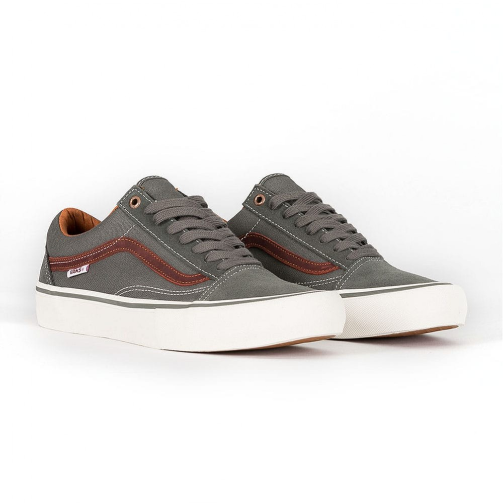Telégrafo papelería Patriótico  Vans Old Skool Pro - Gunmetal/Burnt Henna | Rockcity | Skate Shoes ...