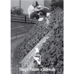 Palmer x Sidewalk Short Sleeve Tee-0