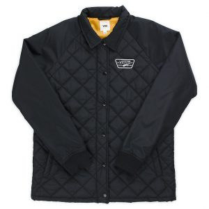 Vans Thanks Coach Quilted Jacket - Black