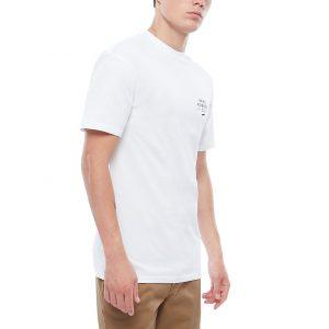 Vans Stacked Rubber Short Sleeve - White