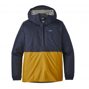 Torrentshell Pull Over - Navy Blue / Rugby Yellow-0