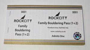 Rockcity Family Bouldering Pass 1+2