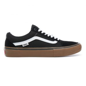Vans Old Skool Pro - Black/White/Medium Gum