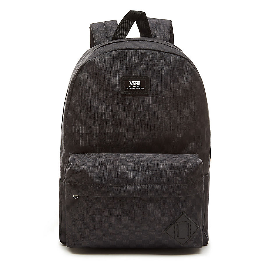 recognized brands cheap another chance Old Skool II Backpack- Black/Charcoal Checkerboard