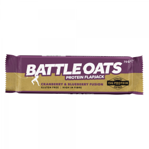 Buy your Battle Oats Protein Flapjack from the Rockcity Shop