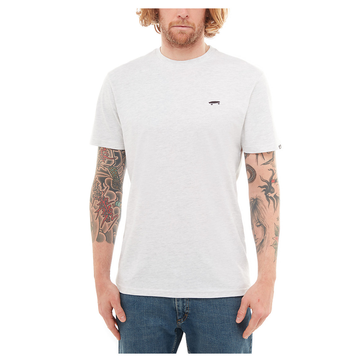 7b4adec72c Vans Skate Tee Short Sleeve - Ash Heather