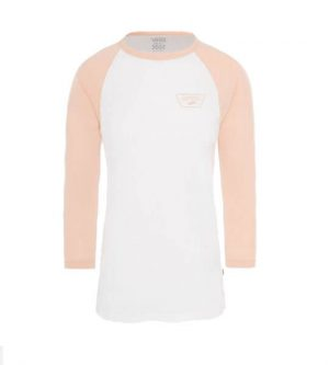 van full patch raglan white rose cloud