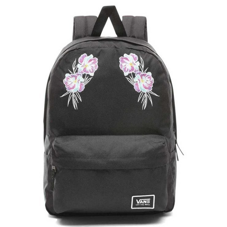 7127b85ac7 Vans Realm Classic Backpack - Flower Embroidery