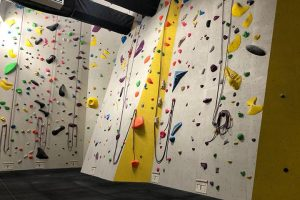 roped wall after rockcity pro wall textured climbing wall paint