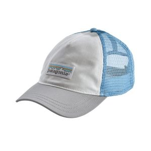 a6ab058ac P-6 Logo Trucker Hat - White W Fire/ Andes Blue | Rockcity ...