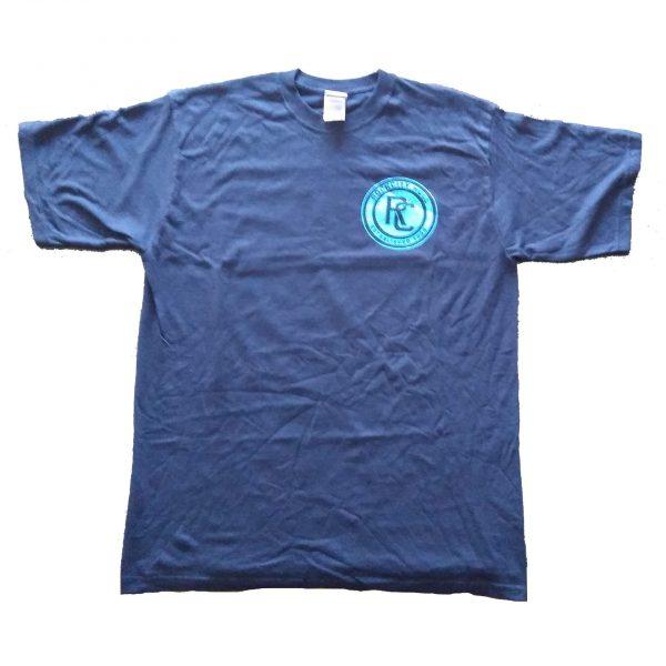 Rockcity Skate tee - blue - front