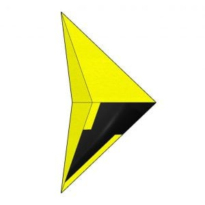 rockcity iconic stealth B2 positive yellow - top