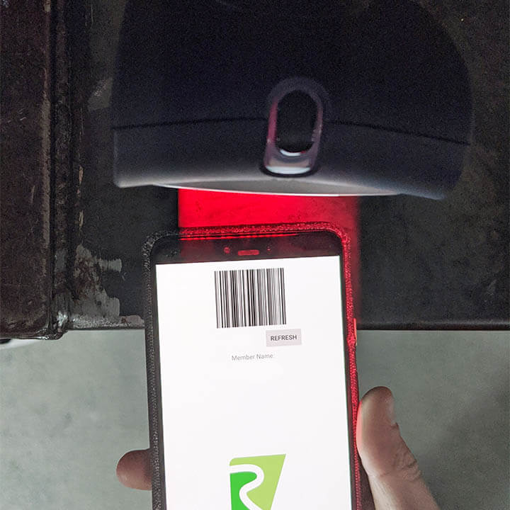 rockcity registered memberships member barcode scanner rgpro connect