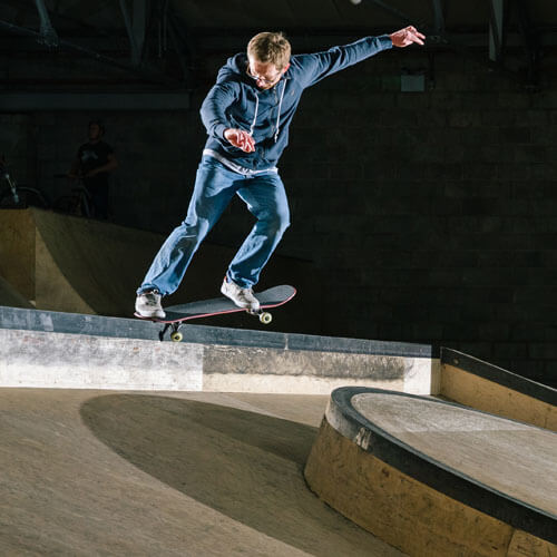 Scott Palmer at Rockcity Skatepark