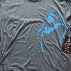 The Power T-shirt - Steel Blue