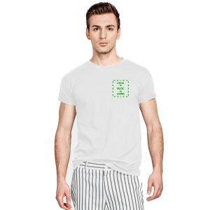 Local Bloc Down T-Shirt - White