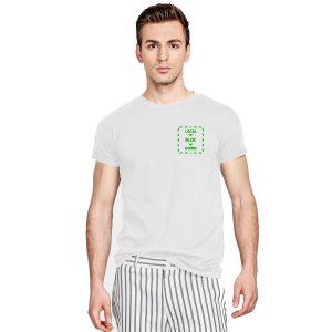 Local Bloc Down T-Shirt - White